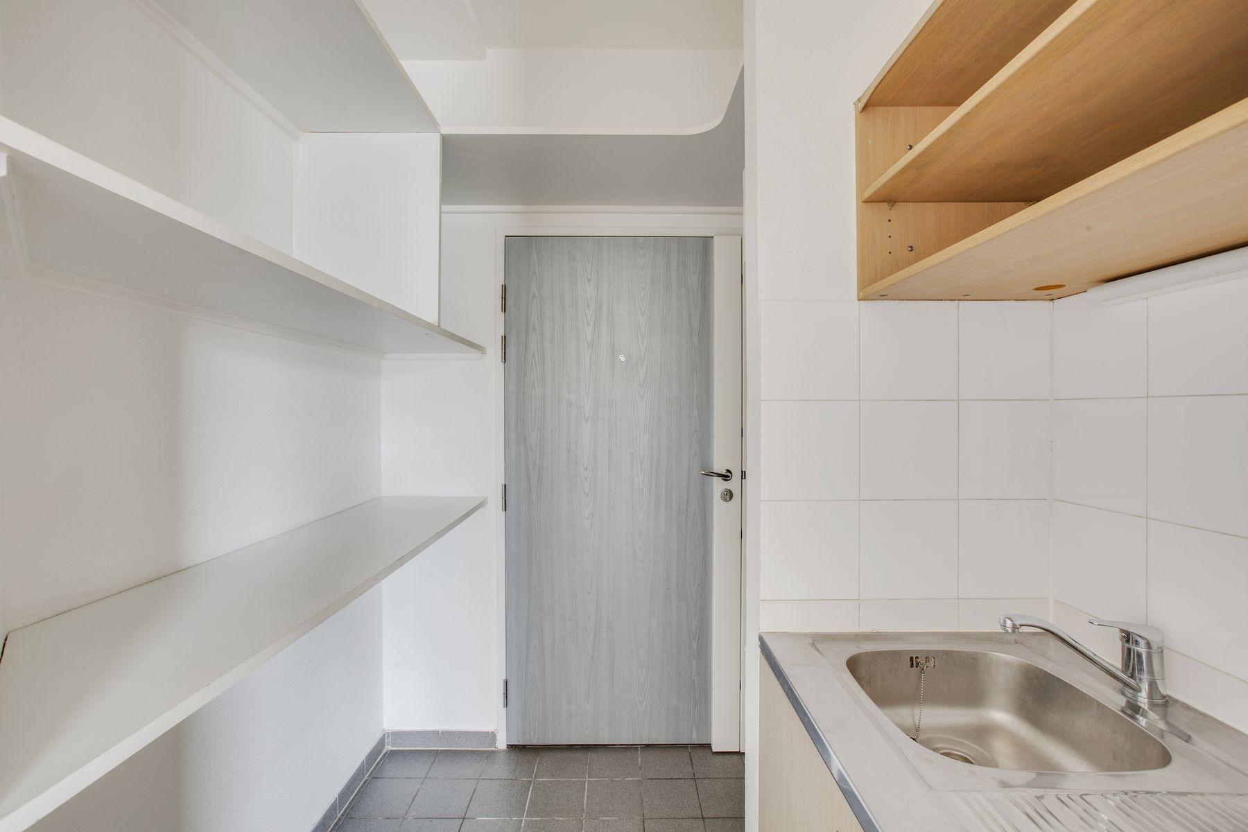 LOGIFAC résidence étudiante Porte de Montmartre Paris cuisine et rangements