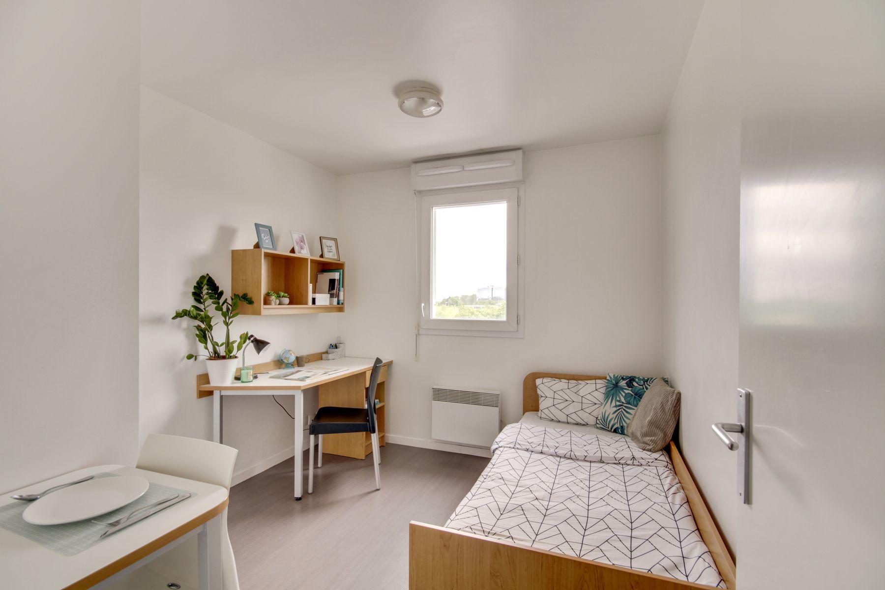 LOGIFAC résidence étudiante Prunais Villiers sur Marne studio