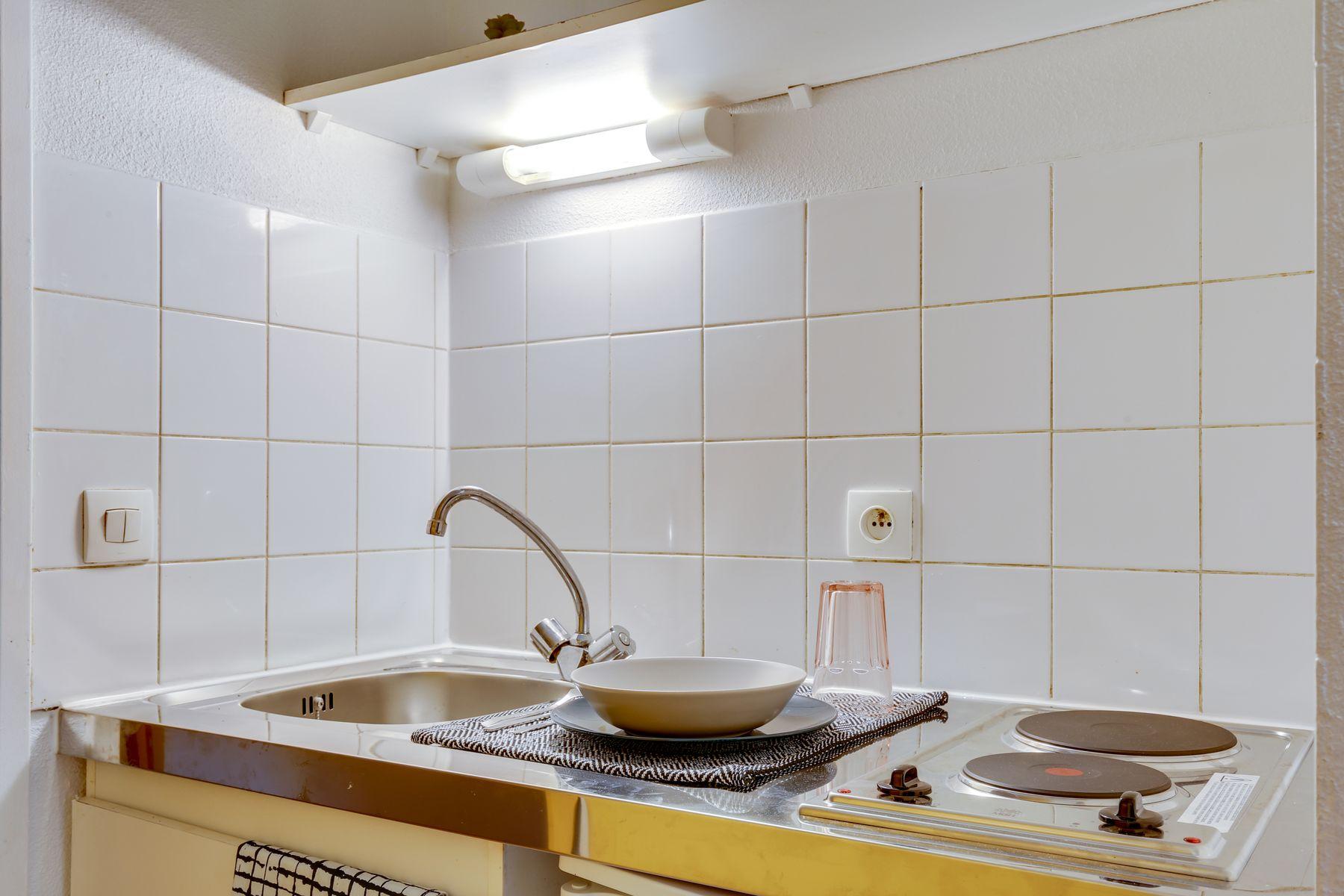 LOGIFAC résidence étudiante Pyramide Lieusaint coin cuisine