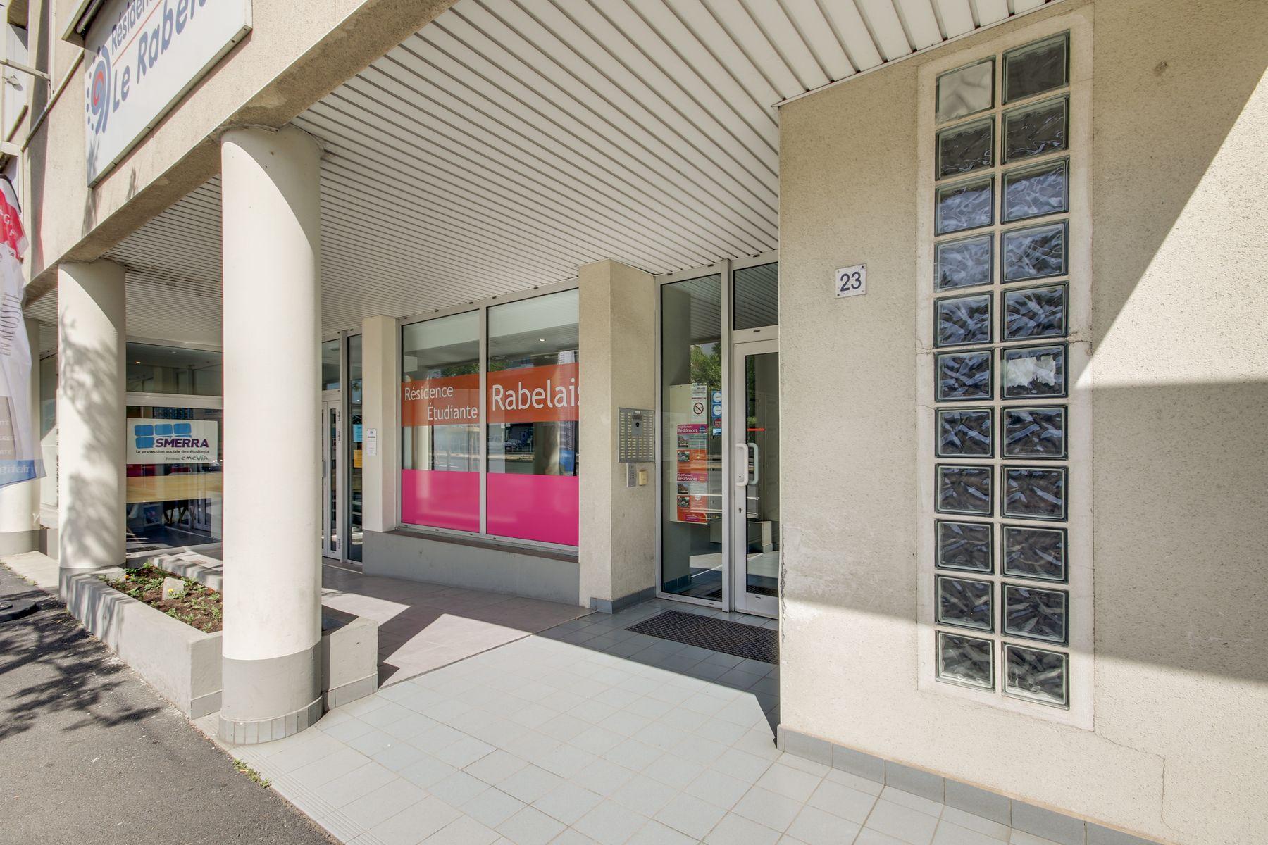 LOGIFAC résidence étudiante Rabelais Clermont-Ferrand accès accueil