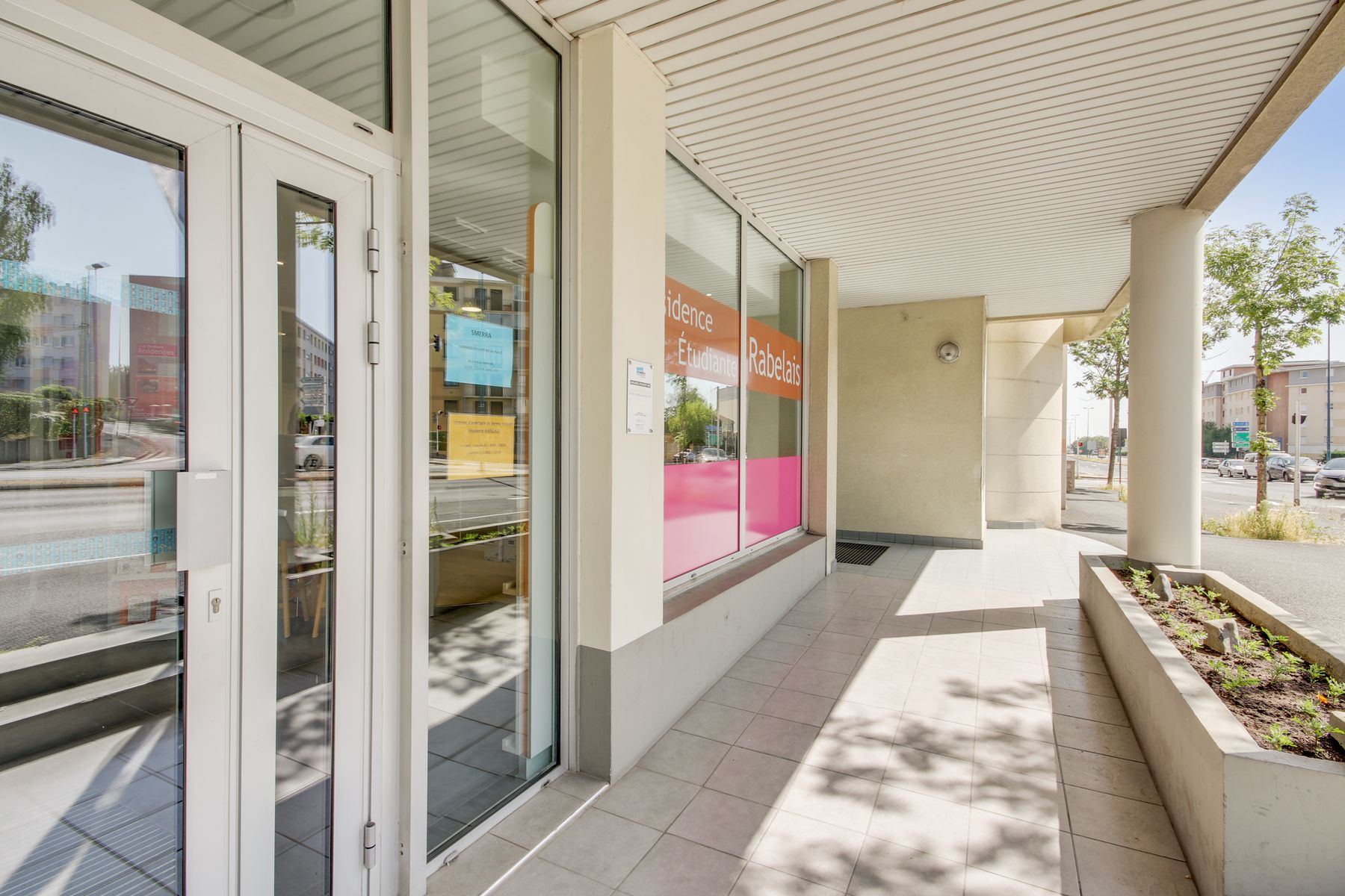 LOGIFAC résidence étudiante Rabelais Clermont-Ferrand accès sécurisé