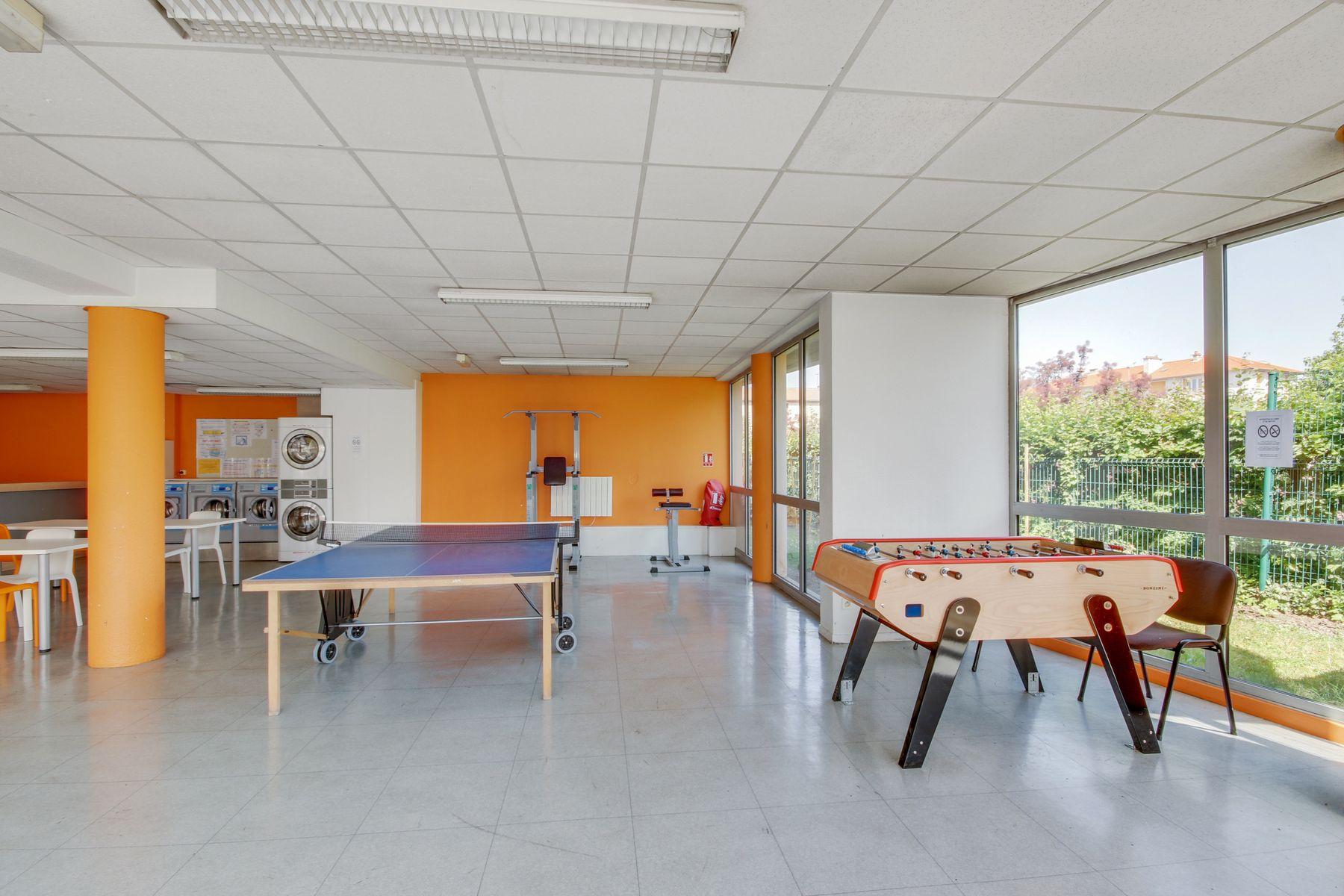 LOGIFAC résidence étudiante Rabelais Clermont-Ferrand jeux