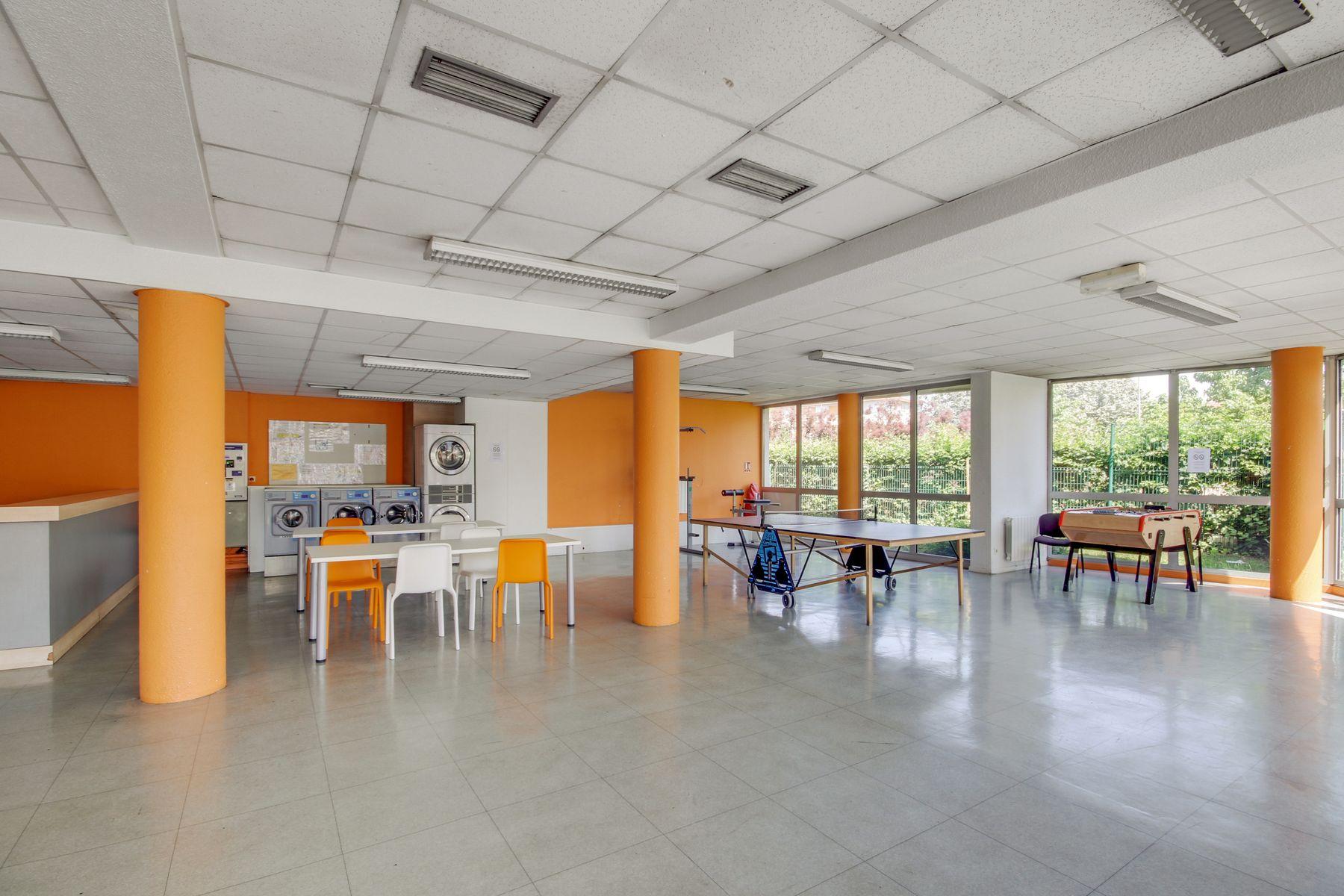 LOGIFAC résidence étudiante Rabelais Clermont-Ferrand espaces collectifs