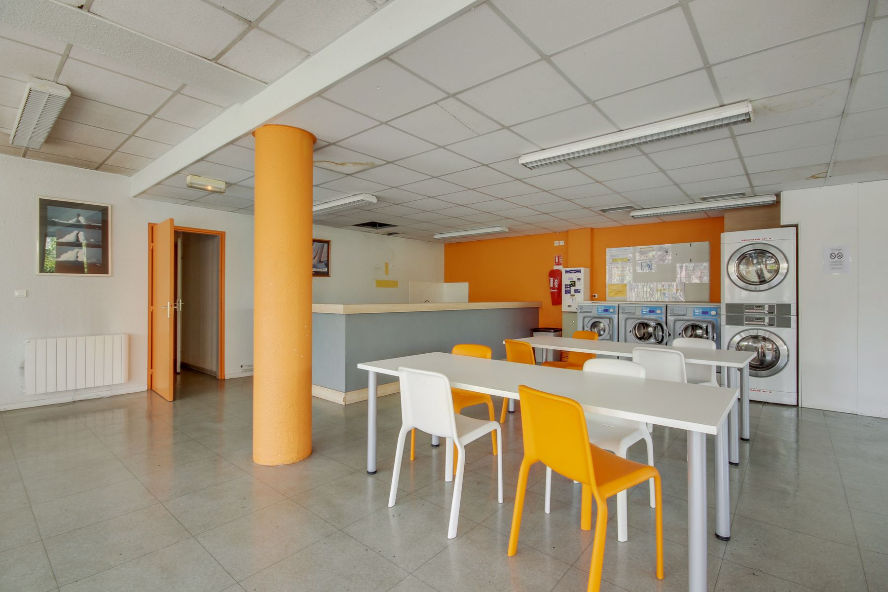 LOGIFAC résidence étudiante Clermont-Ferrand Rabelais machines à laver