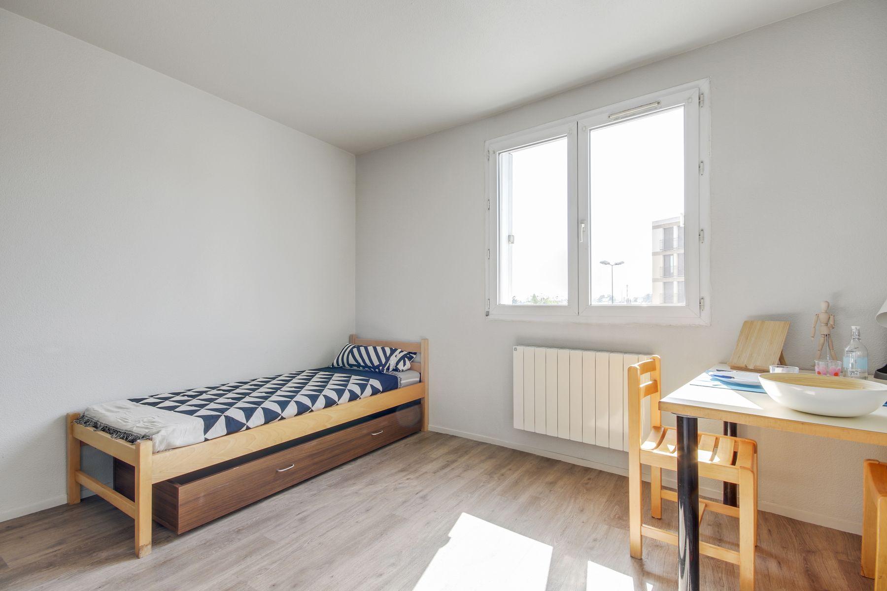 studio LOGIFAC résidence étudiante Rabelais Clermont-Ferrand