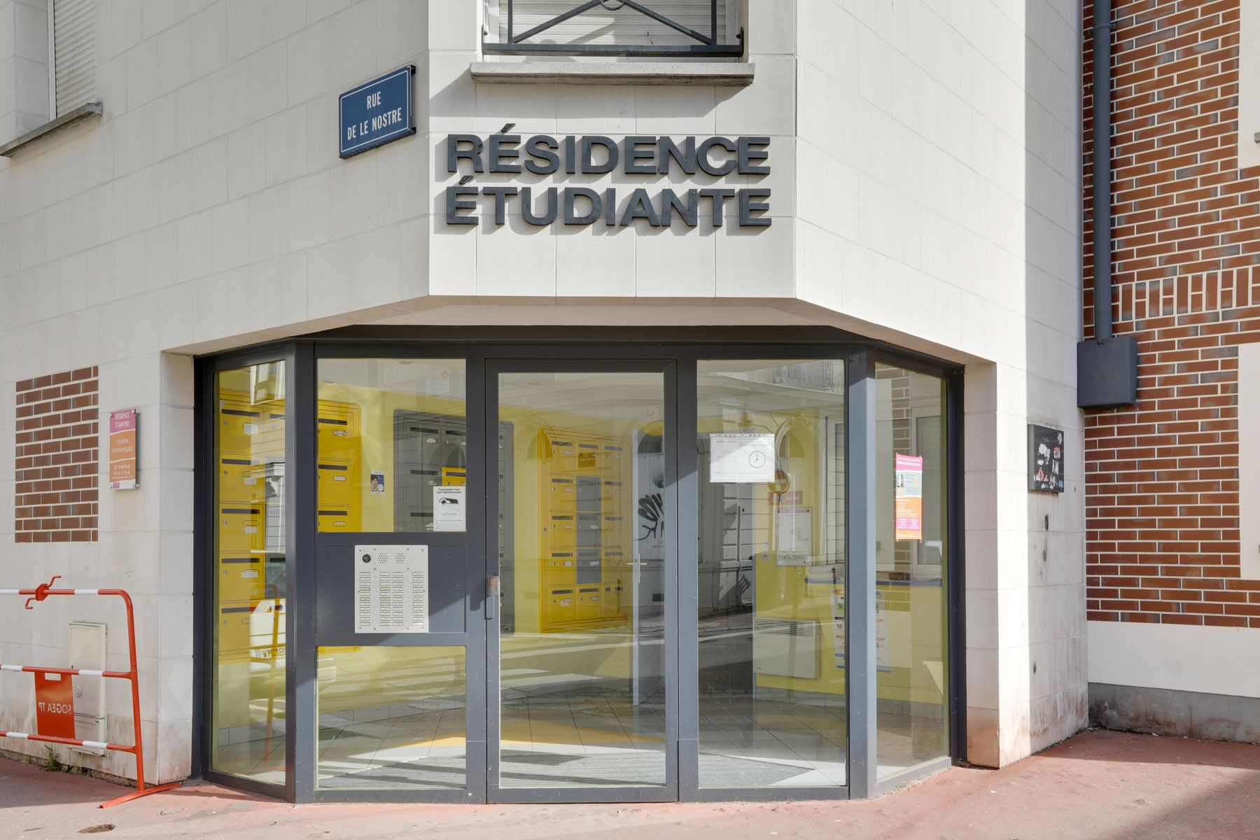 LOGIFAC résidence étudiante Stanford Rouen accès sécurisé
