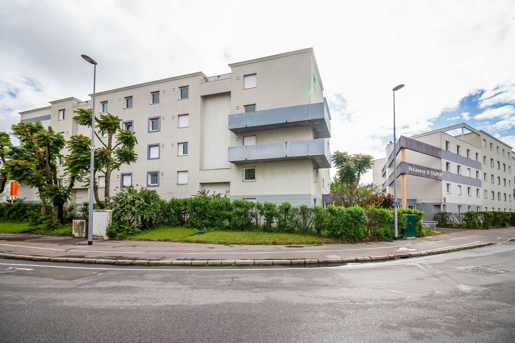LOGIFAC résidence étudiante Saint-Exupéry Dijon route