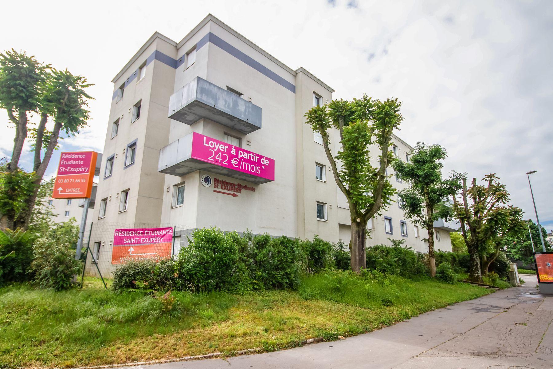 LOGIFAC résidence étudiante Saint-Exupéry Dijon rue