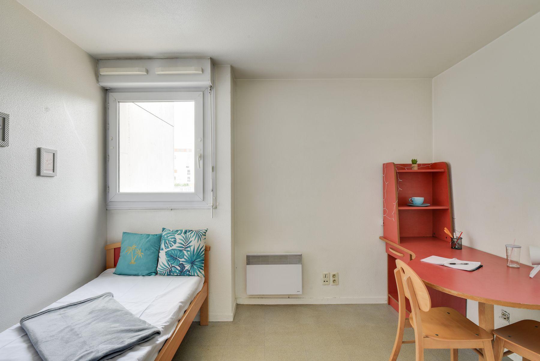 LOGIFAC résidence étudiante Saint-Mandéen Paris chambre