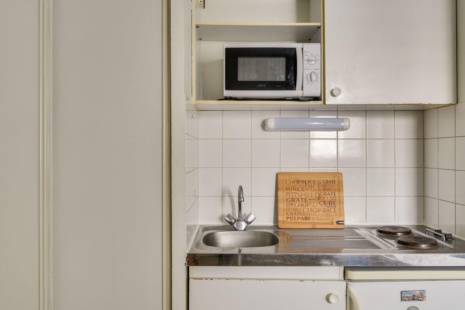 LOGIFAC résidence étudiante Saint-Mandéen Paris coin cuisine