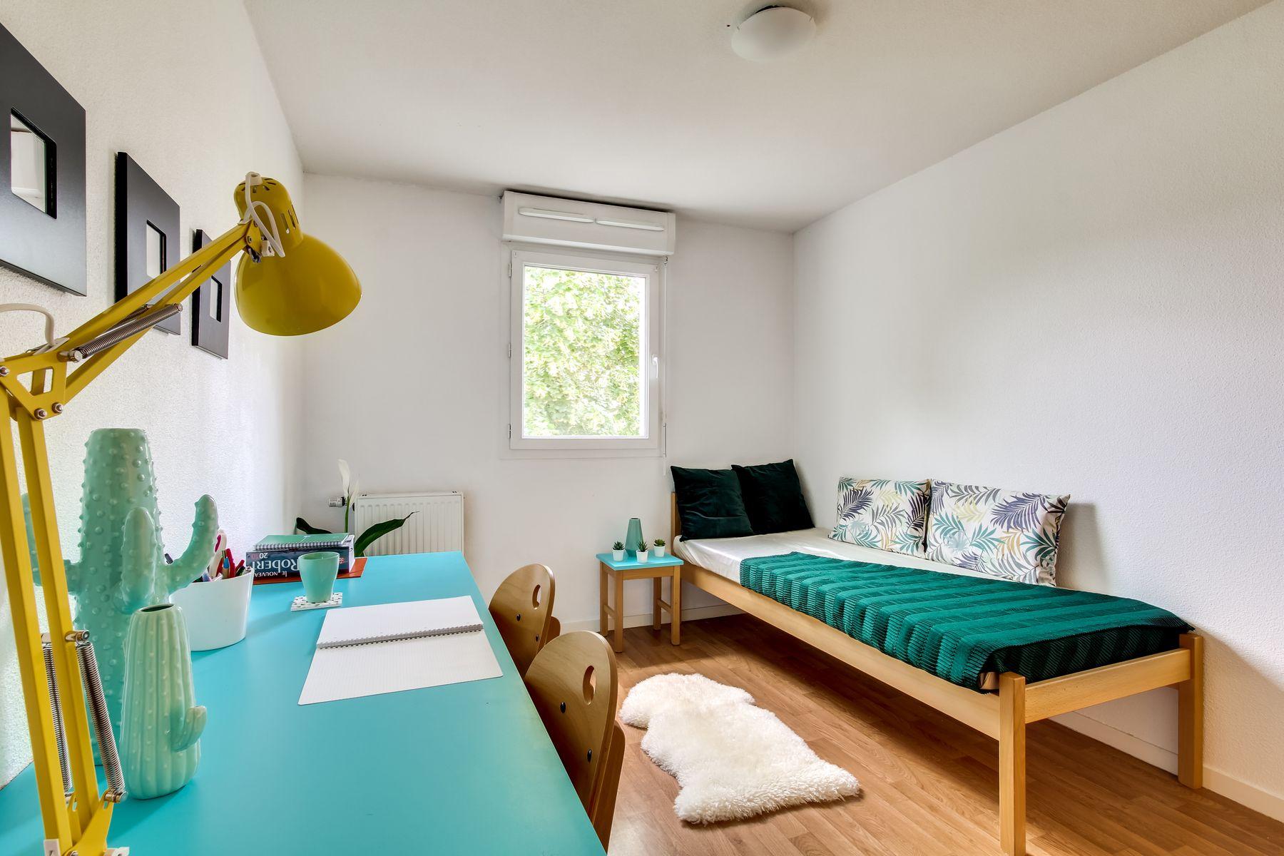 LOGIFAC résidence étudiante Van Gogh La Rochette logement