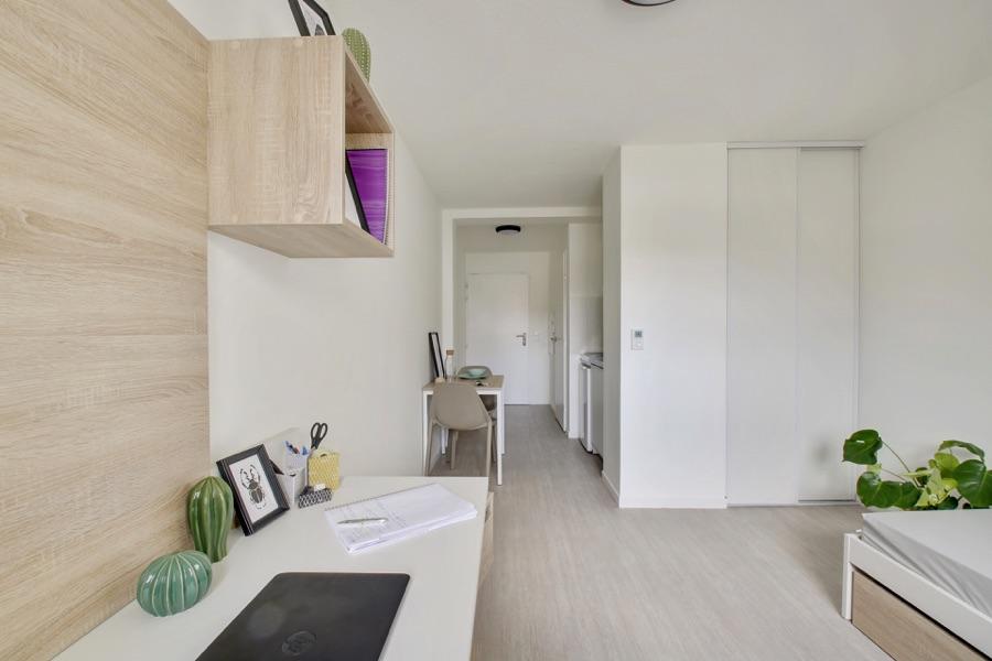 LOGIFAC résidence étudiante Sirius St Priest en jarez logement équipé