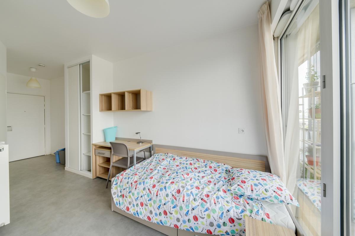 lit et meubles residence etudiante logifac Ivry sur seine Académies jean jaurès